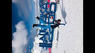 Альпика! Высота 2256 метров. Прыгнул с горы!