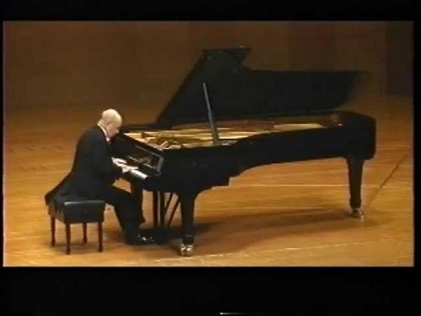 SHURA CHERKASSKY WEBER SONATA NO. 4 IN E MINOR OP.70 LIVE 1990