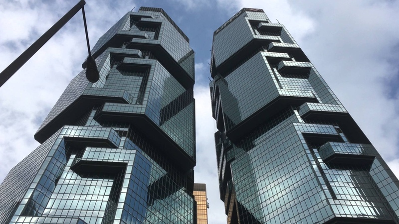 Lippo Centre in Admiralty Hong Kong Island Hong Kong
