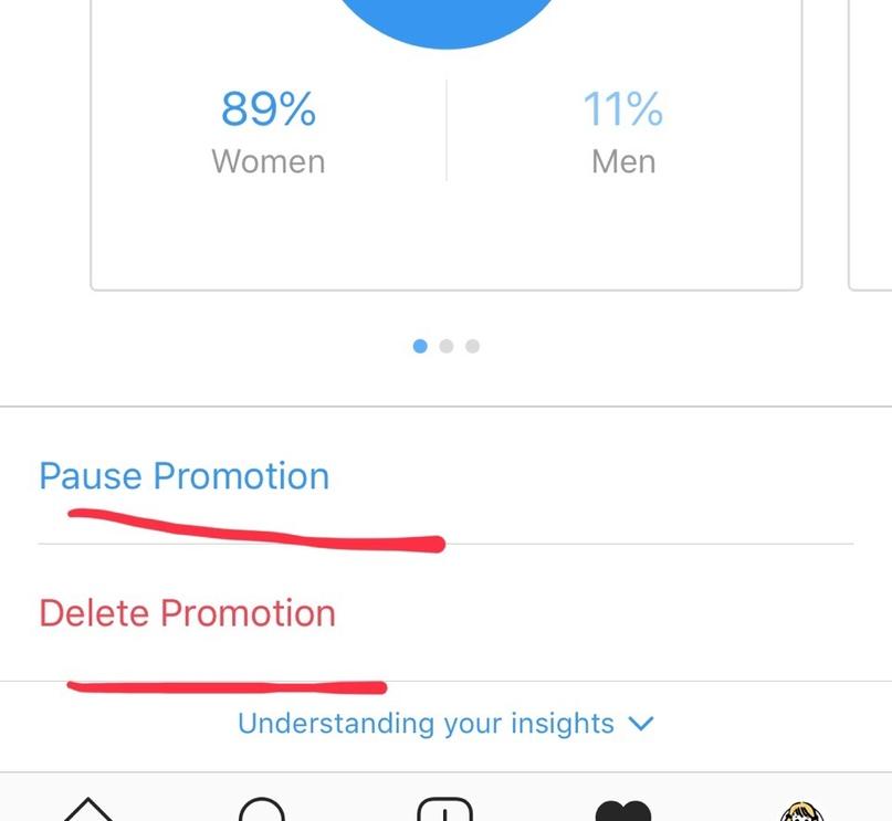 Как редактировать настройки таргета у поднимаемого поста в Instagram?, изображение №6