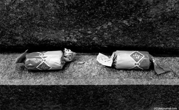 Конфеты с кладбища