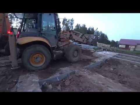 Ленточный фундамент 18 часть свайно-ростверковый