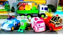 Robocar Poli oyuncak kamyonunu kurtarıyor. Araba oyunları. Robocar Poli oyuncakları.