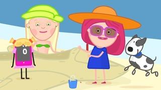 ПРЕМЬЕРА - Новый мультик для девочек - Смарта и чудо-сумка - Как перелететь через море?