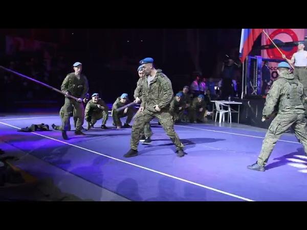 11 ОДШБР фестиваль боевых искусств Улан Удэ Показательные выступления ВДВ