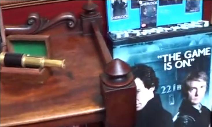 Матрешка с лицом Ливанова - это все, что знают англичане о нашем Шерлоке Холмсе Лондон