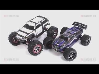 Видео-обзор моделей Traxxas 1:16 E-Revo и Summit от