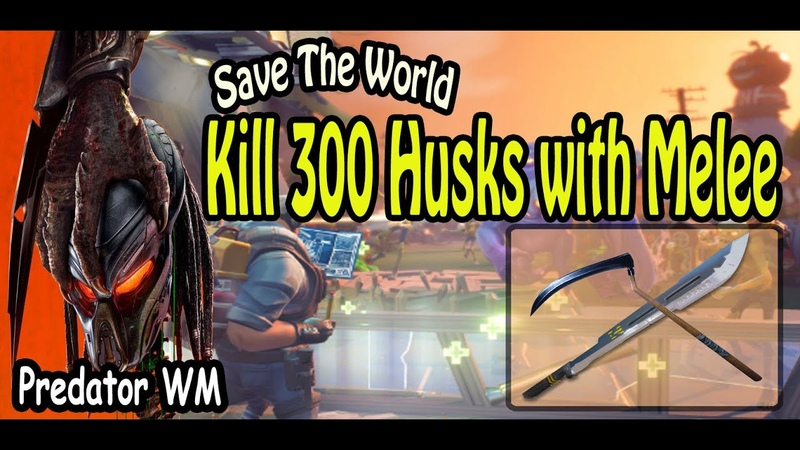 Kill 300 Husks with Melee in successful missions