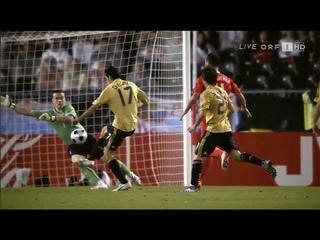 (HD) Россия 0-3 Испания / 2008 UEFA Euro / Russia vs Spain
