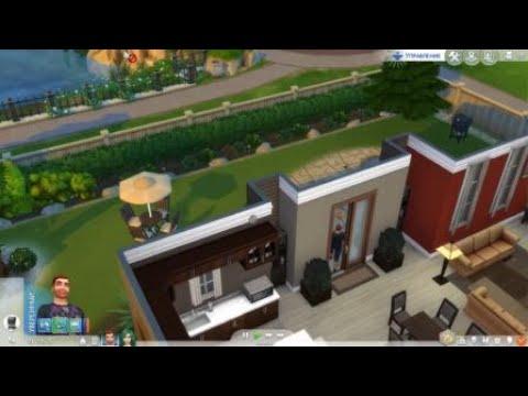 Шикарный дом в The Sims™ 4