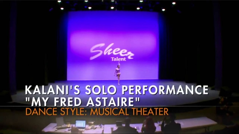 Dance Moms Full Solo Kalani Hilliker My Fred Astaire (Season 6, Episode 13)