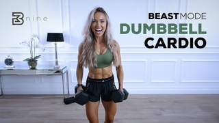 BEASTMODE FULL BODY - Strength & Sweat Dumbbell Cardio Workout | Day 9