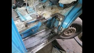 MERSEDES SPRINTER восстановление.герметик,ремонт пола.сварка/WELDING