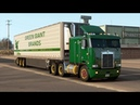 American Truck Simulator - ATS 1.39 - Kenworth K100E truck - Elko to Reno