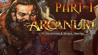 Arcanum: Of Steamworks and Magick Obscura  (технолог) #1 Хитрый Изя