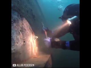 Интересные нюансы и трудности сварки под водой