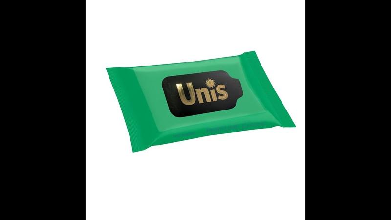 Применение антибактериальных салфеток Unis