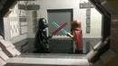 Lego Star Wars MOC Dart Vader vs Obi Wan duel on Death Star Лего самоделка дуэль Вейдера и Оби Вана