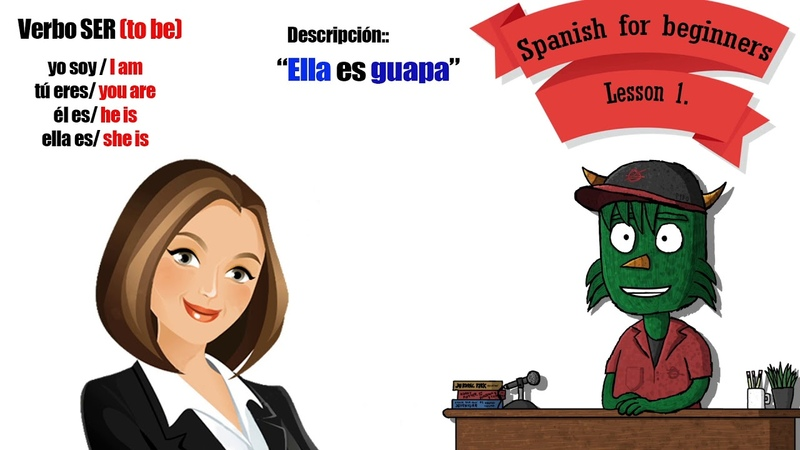 Spanish for absolute beginners Lesson1 Spanish is fun ツ Start learning SPANISH FOR FREE