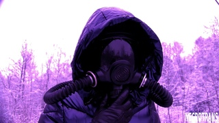 GAS MASK PMK-5 / GP-21 WITH FILTERS AND CORRUPS AND DIFFERENT WINTER SKI OVERALLS