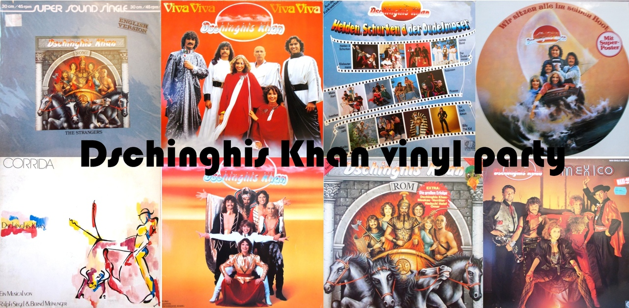 Афиша Dschinghis Khan vinyl party