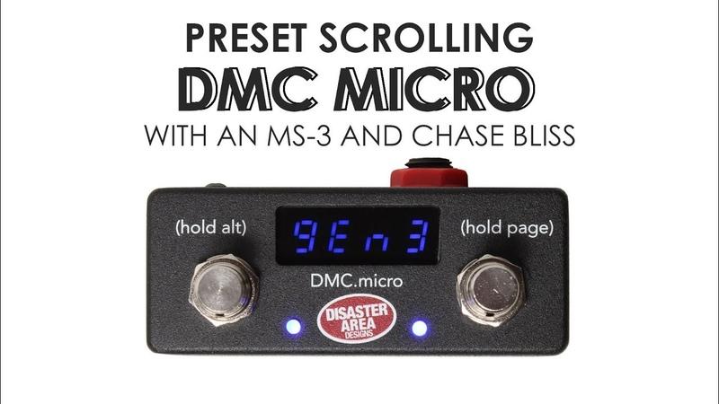 DMC Micro For CBA Preset Scrolling