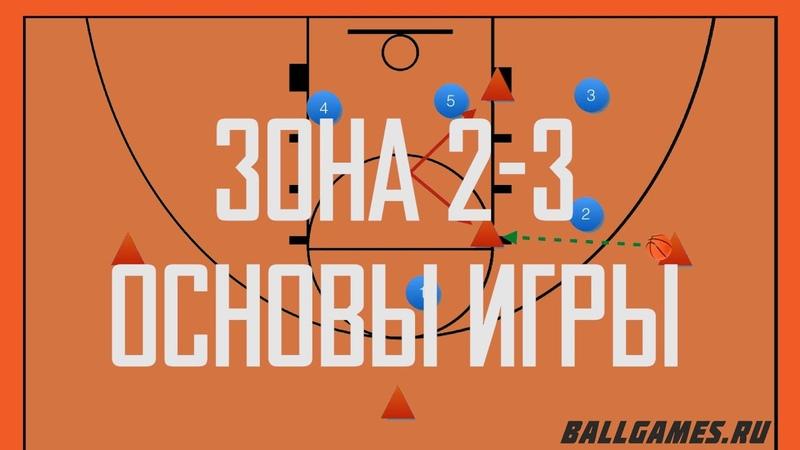 Тактика защиты в баскетболе Как играть зону 2 3
