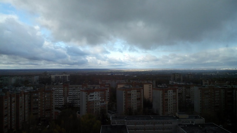 Предзимье Ярославль 20 10 2020