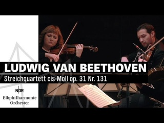 Ludwig van Beethoven: Streichquartett cis-Moll op. 131 | NDR Elbphilharmonie Orchester