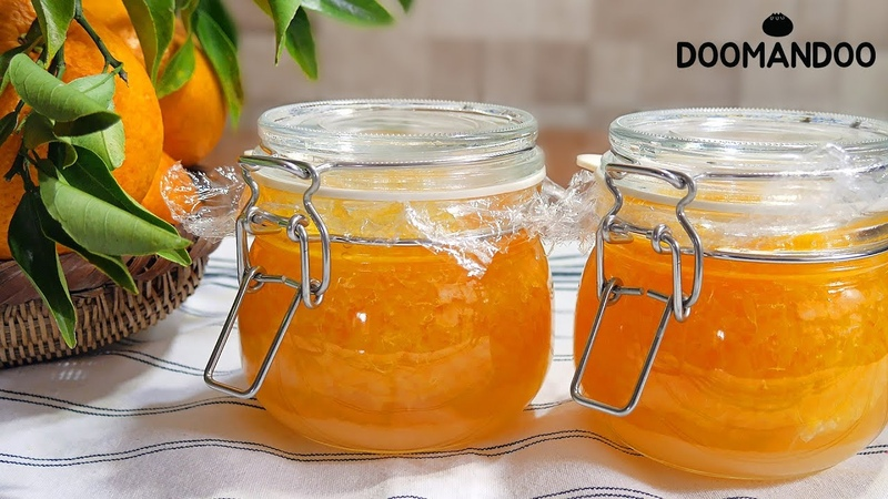 {ENG SUB}여름의 귤🍊제주에서 자란 하귤청 Summer Orange Ade ナツミカン エード 두만두 doomandoo