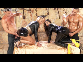 [ / ] Aurelly Rebel, Kayla Green | OIL | LEATHER | PORNO | ANAL | FETISH | LESBIAN