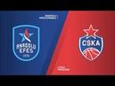 EuroLeague FinalFour Final Anadolu Efes CSKA Moskova