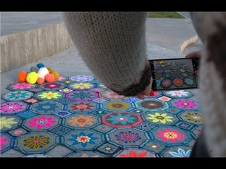 FIESTA CAL part 1 - Mosaic Crochet Tutorial