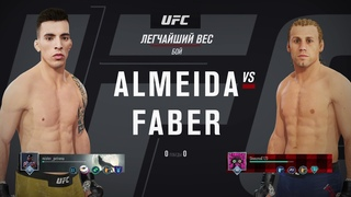 VBL 50 Bantamweight Urijah Faber vs Thomas Almeida