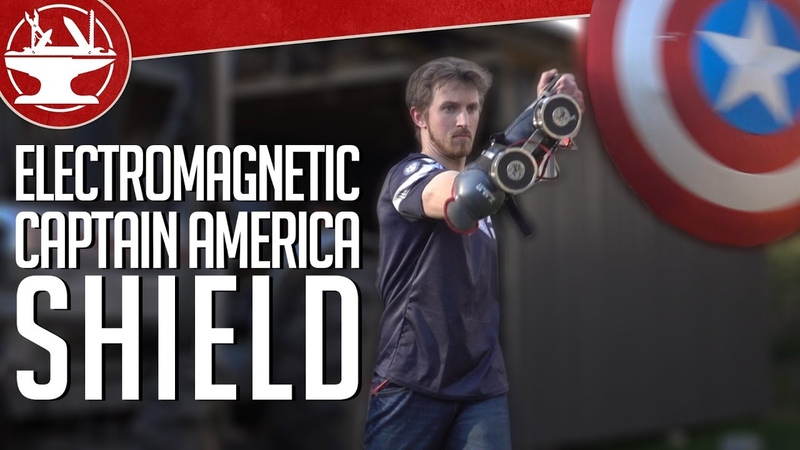 Does Captain America's Electromagnet Shield Work