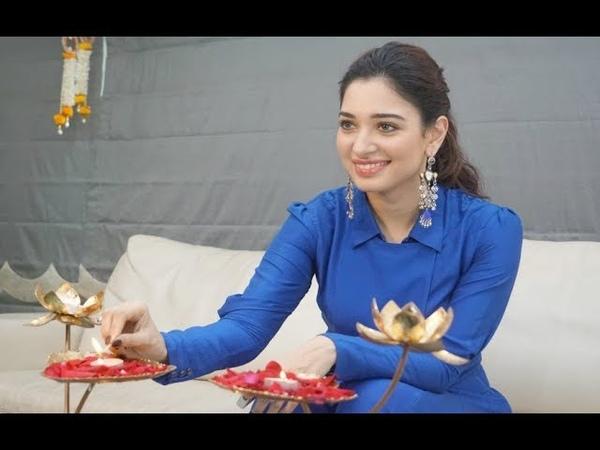 Tamanna Bhatia Diwali Special Interview 2017