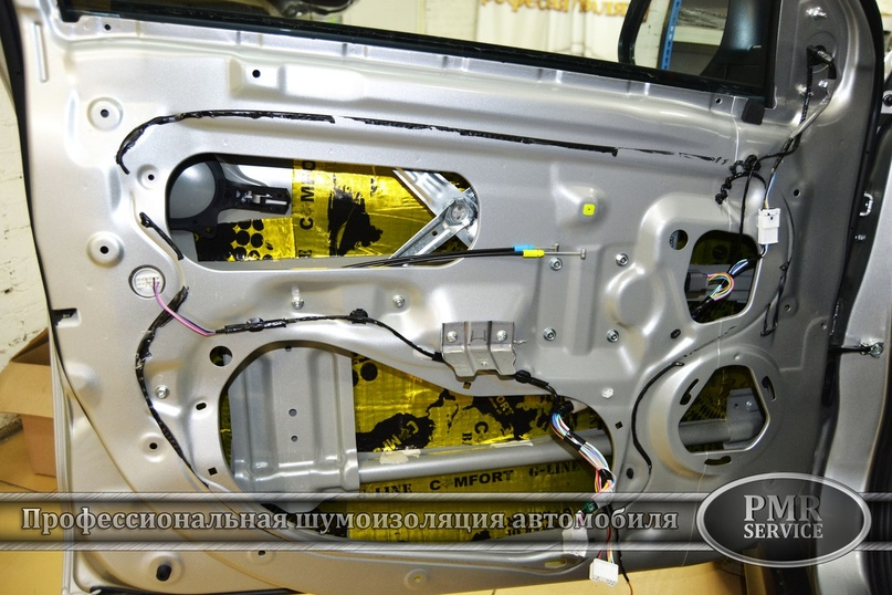 Комплексная шумоизоляция Mitsubishi ASX, изображение №8