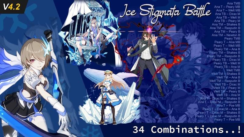 Ice Stigmata Battle on Argent Knight Artemis ft Ana Schariac Honkai Impact 3