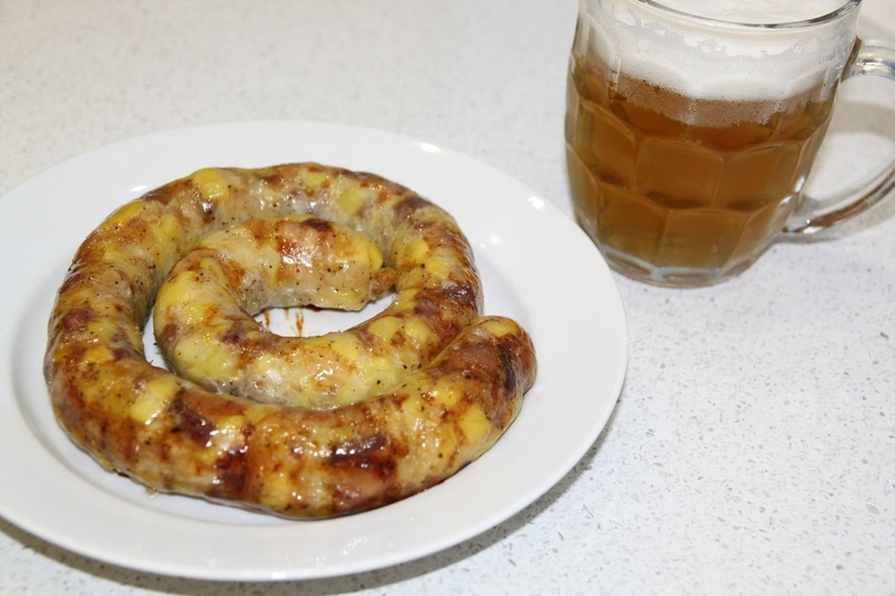 Семейный рецепт колбасы с картофелем.😋