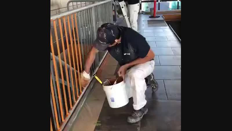 Варежка для покраски в труднодоступных местах