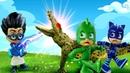 Video e giochi per bambini. Romeo e Super Pigiamini allo zoo. Nuovi episodi PJ Masks