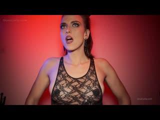 GINA CARLA ASMR BLACK NIPPLE HEARTBEAT VIDEO