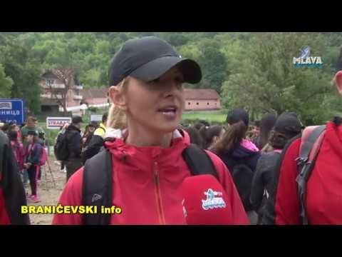 Hodanjem do zdravlja, Malo Crnice (RTV MLAVA 25.05.2019.)