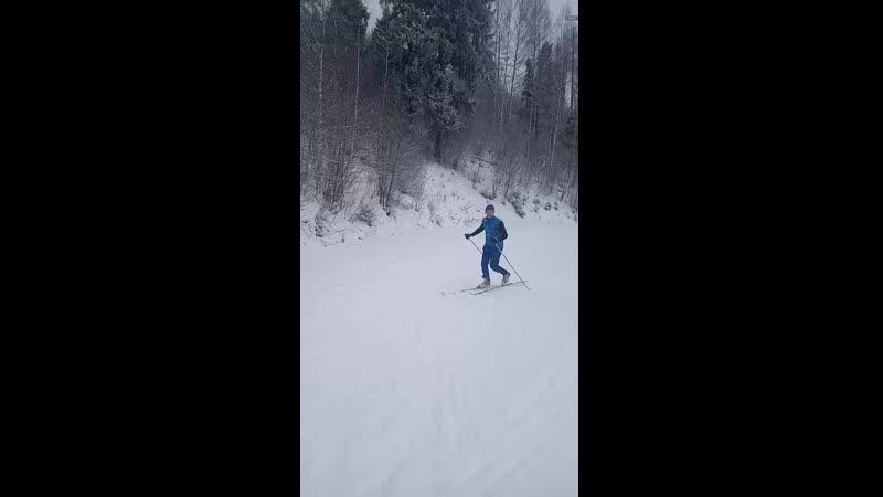 Когда лыжи совсем не катят 🙂
