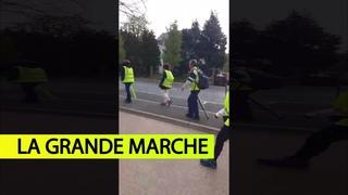 Gilets Jaunes - La Marche des oubliés