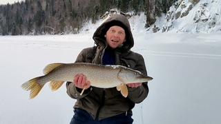 Удачная рыбалка на жерлицы. Щука в марте на Чусовой.
