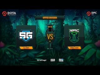 SG e-sports vs NoPing e-sports, OGA DPC SA Regional League S1, bo3, game 3 [Maelstorm & Jam]