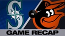 Lopes' clutch hit propels Mariners in 13th   Mariners-Orioles Game Highlights 9 21 19