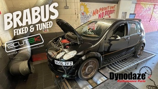 Smart ForFour Brabus Engine replacement and Ecutek Remap - Big Hole!
