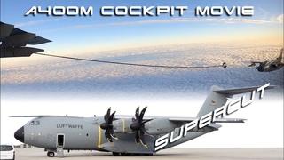 BREATHTAKING A400M & Tornado DUAL Luftwaffe Cockpit Movie, air-refueling! 30-Min Supercut [AirClips]